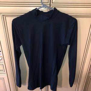 Navy stretch under shirt